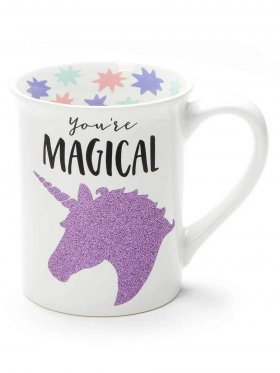 You're Magical Glitter Unicorn Mug