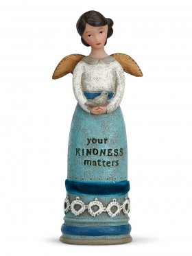Demdaco Winged Inspiration Angel - Your Kindness Matters