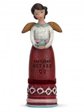 Demdaco Winged Inspiration Angel - Cherished Mother