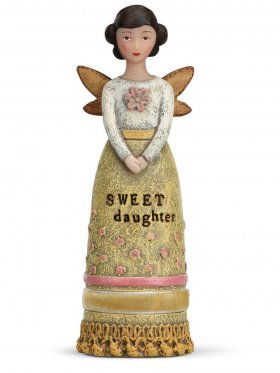 Demdaco Winged Inspiration Angel - Sweet Daughter