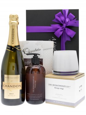 The Aromatherapy Co Lavender & Chandon Pamper Hamper