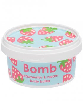 Bomb Cosmetics - Strawberries & Cream Body Butter 210ml