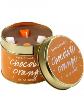 Bomb Cosmetics - Chocolate Orange Tin Candle