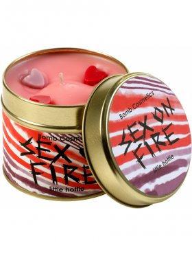 Bomb Cosmetics - Sex on Fire Tin Candle