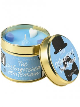 Bomb Cosmetics - The Distinguished Gentleman Tin Candle