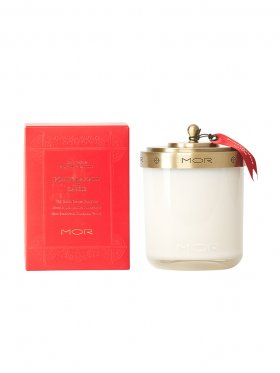 MOR Fragrant Candle 380g - Pomegranate & Cassis