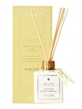 MOR Fragrant Reed Diffuser 180ml - French Pear & Vanilla