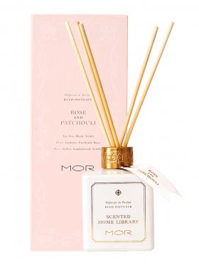 MOR Fragrant Reed Diffuser 180ml - Rose & Patchouli