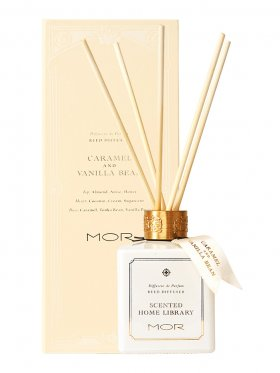 MOR Fragrant Reed Diffuser 180ml - Caramel & Vanilla Bean
