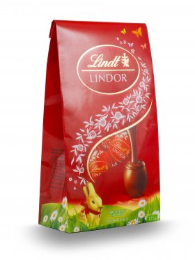 Lindt Lindor Milk Chocolate Mini Eggs 125g