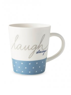 Royal Doulton Ellen Degeneres Mug - Laugh Always 450ml