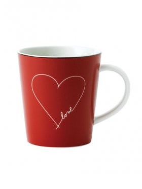 Royal Doulton Ellen Degeneres Mug - Red Heart 450ml