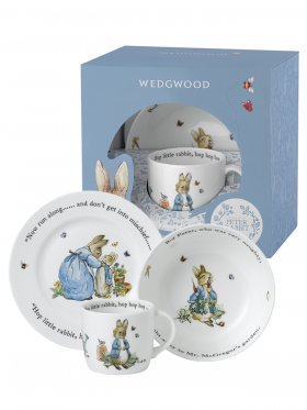 Peter Rabbit - Blue 3 Piece Set