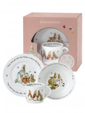 Peter Rabbit - Pink 3 Piece Set