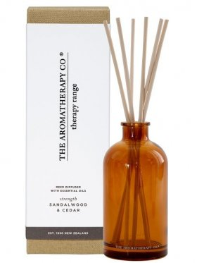 The Aromatherapy Co. Therapy Diffuser Strength - Sandalwood & Cedar 250ml