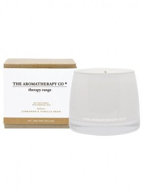 The Aromatherapy Co. Therapy Candle Balance - Cinnamon & Vanilla Bean 260g