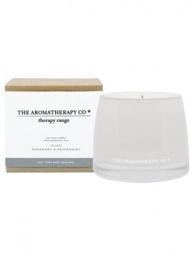 The Aromatherapy Co. Therapy Candle Breath - Rosemary & Peppermint 260g