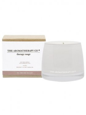 The Aromatherapy Co. Therapy Candle Soothe - Peony & Petigrain 260g