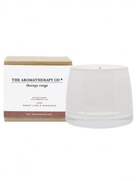 The Aromatherapy Co. Therapy Candle Uplift - Sweet Lime & Mandarin 260g