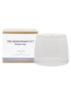 The Aromatherapy Co. Therapy Candle Relax - Lavender & Clary Sage 260g