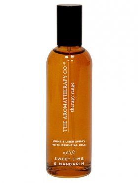 The Aromatherapy Co. Therapy Linen & Room Spray Uplift - Sweet Lime & Mandarin 100ml