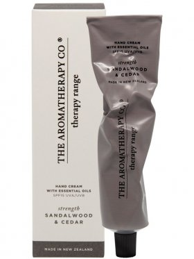 The Aromatherapy Co. Therapy Hand Cream Strength - Sandalwood & Cedar 75ml