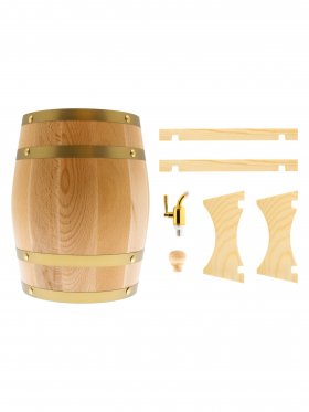 Oak Wine Barrel, 3L