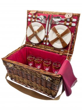 Balmoral Four Person Picnic Basket