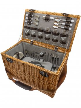 Hamptons Six Person Picnic Basket
