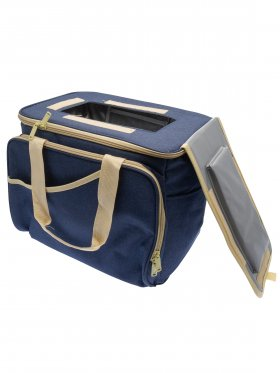 Insulated 24 Can Canvas Cooler