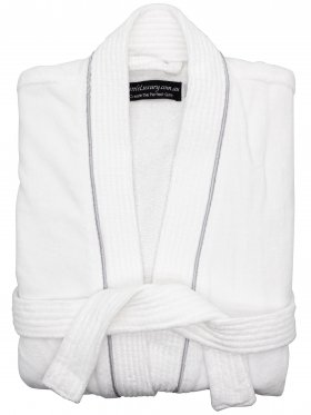 Cotton Velour Bathrobe - Large