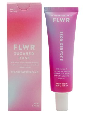 The Aromatherapy Co. FLWR Hand Cream 50ml - Rose & Dewberry