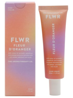 The Aromatherapy Co. FLWR Hand Cream 50ml - Orange Blossom