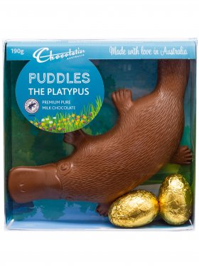 Chocolatier Puddles The Platypus 190g