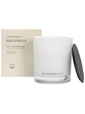 The Aromatherapy Co. Naturals Candle 370g, Coast: Berry & Beech leaf
