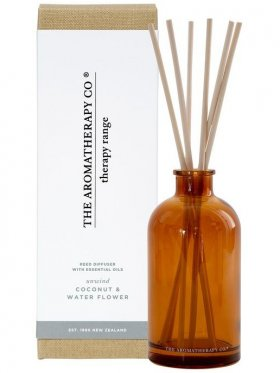 The Aromatherapy Co. Therapy Diffuser Unwind 250ml - Coconut & Water Flower