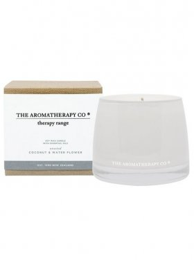 The Aromatherapy Co. Therapy Candle - Unwind: Coconut & Water Flower 260g