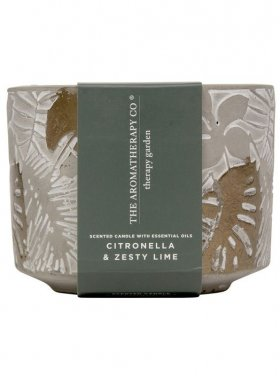 The Aromatherapy Co. Garden Candle - Citronella & Zesty Lime 300g
