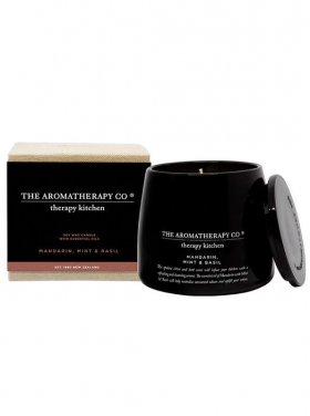 The Aromatherapy Co. Kitchen Candle - Mandarin, Mint & Basil 260g