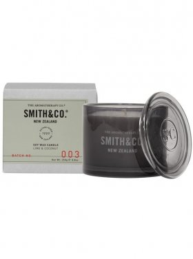 The Aromatherapy Co. Smith & Co Candle - Lime & Coconut 250g