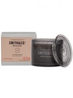 The Aromatherapy Co. Smith & Co Candle - Fig & Ginger Lily 250g