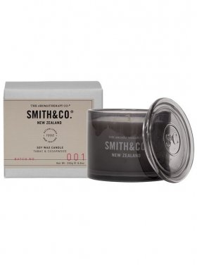 The Aromatherapy Co. Smith & Co Candle - Tabac & Cedarwood 250g