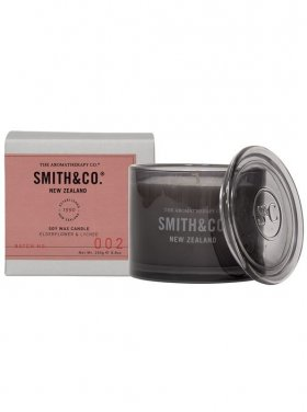 The Aromatherapy Co. Smith & Co Candle - Ederflower & Lychee 250g