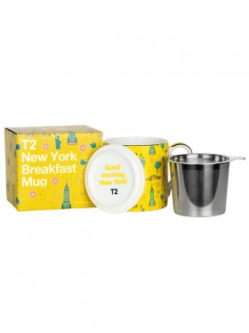 T2 Iconic New York Breakfast Mug with Infuser