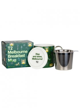 T2 Iconic Melbourne Breakfast Mug with Infuser