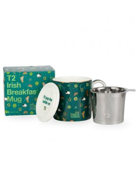T2 Iconic Irish Breakfast Mug with Infuser
