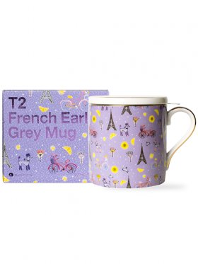 T2 Iconic French Earl Grey Mug with Infuser