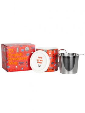 T2 Iconic English Breakfast Mug with Infuser