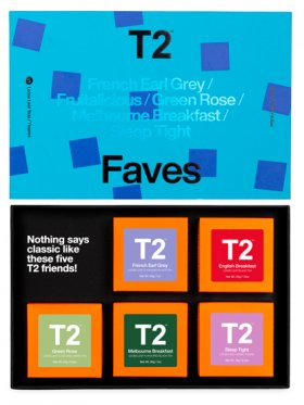 T2 Five Gift Pack - Faves
