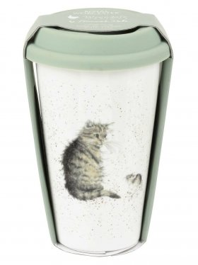 Royal Worcester Travel Mug - Cat